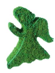 Angel Moss Topiary 10 inch Tall